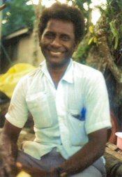 Chief Willie of Ughele villiage, Rendova Solomon Islands