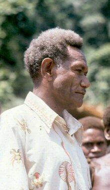 Jonathan Fifi'i, member of Parliment, Solomon Islands