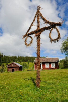 Swedish Midsommer Tree or May Pole