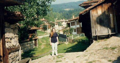 Carrie in Bulgaria