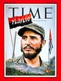Time Magazine's cover on Fidel Castro, January 26, 1959
