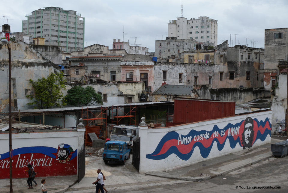 Years of neglect and decay have taken their toll in Cuba