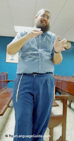 Ashenazic orthodox leader, Havana, Cuba