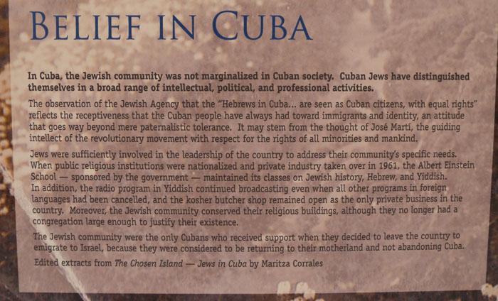 Sentiment toward Cuban Jews, Havana, Cuba