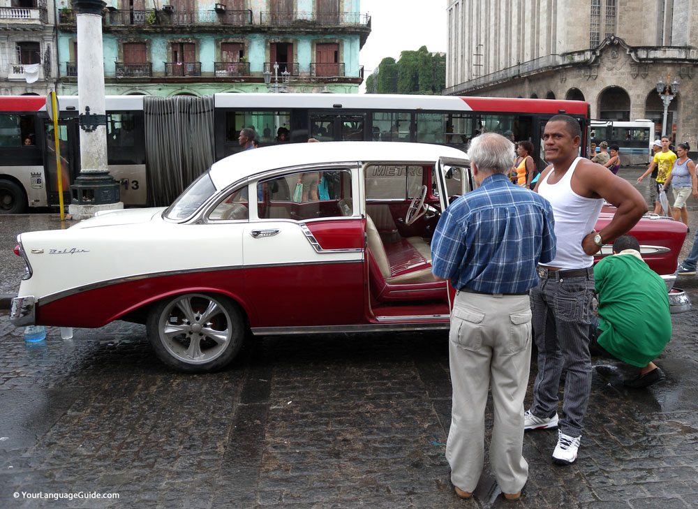 Classic Cuba Chevy