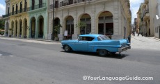 Havana traffic is pedestrian-friendly
