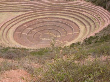 Terraces at Moray, Peru