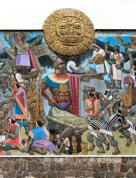 Mural - History of Peru
