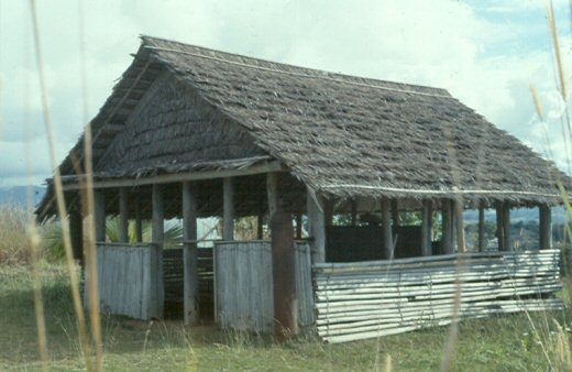 A Solomon Islands chapel