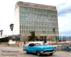 Former US embasy in Cuba