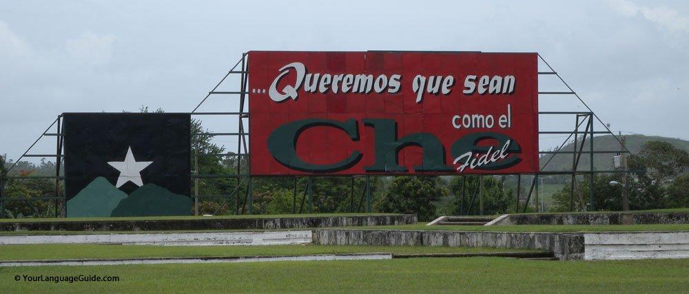 Tribute to Cuban hero, Ernesto Che Guevara