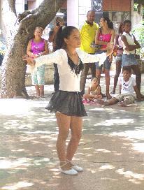 Cuban Girl Dancing