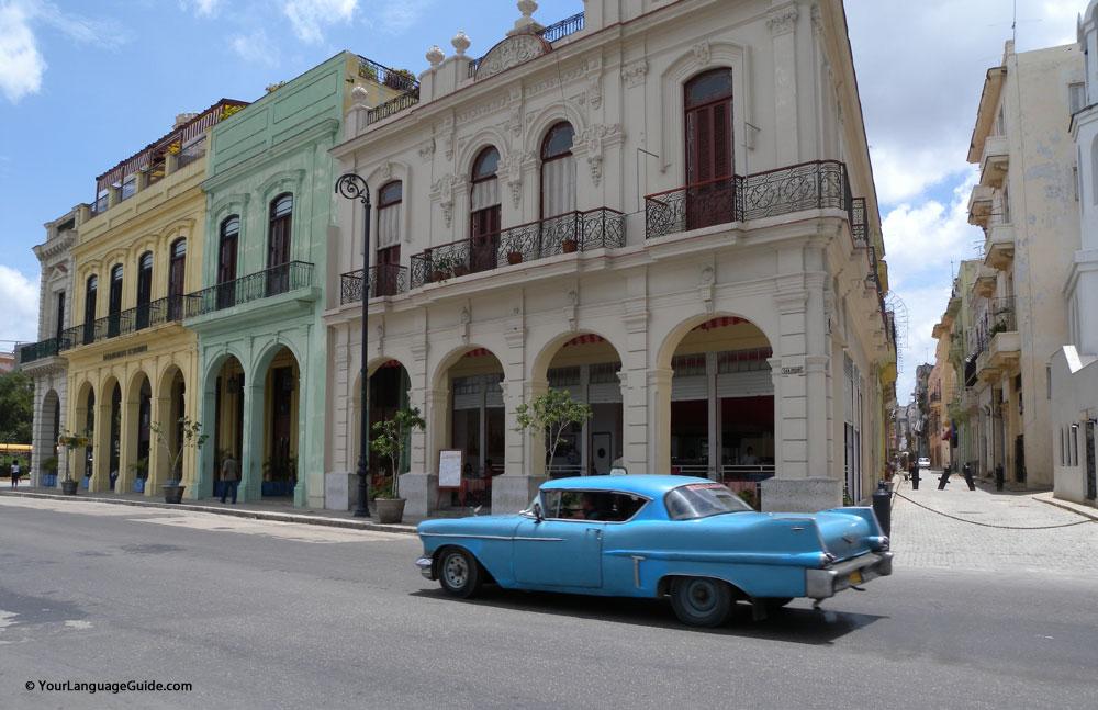 Havana, Cuba traffic
