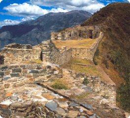 Peru historical site - Choqequirau