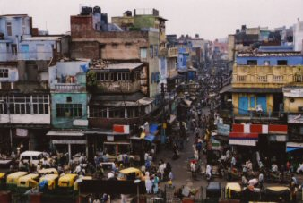 Bird's eye perspective on driving 'organization' in India
