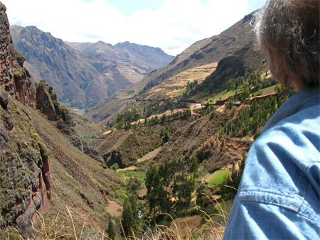 Terry Marshall on his adventure travel in Peru