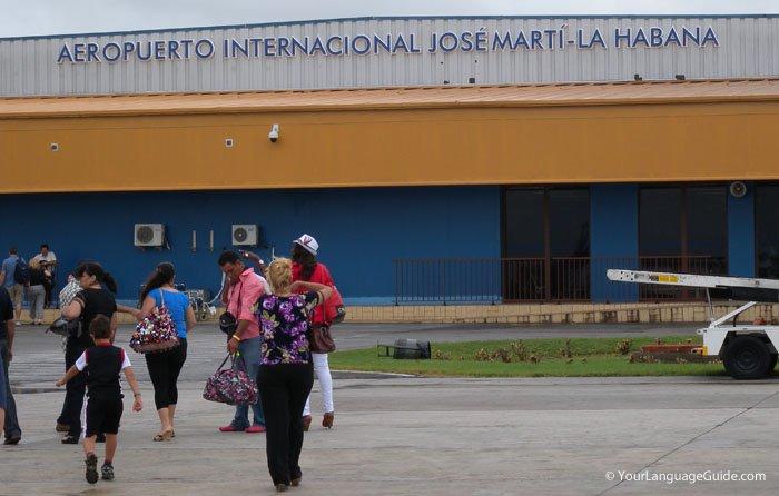 Havana, Cuba airport