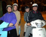Motor bike tour in Vietnam